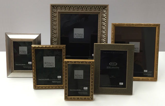 Ready-made photo frames at Arden's in Houston